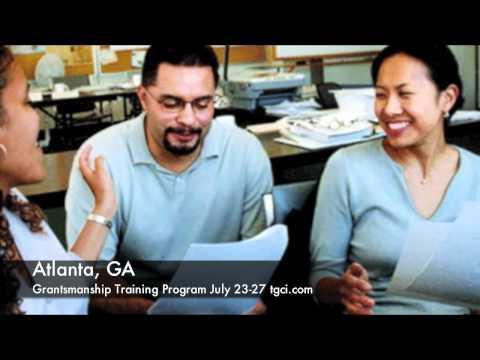 writing-grant-proposals-training:-grantsmanship-training-program:-atlanta-ga.-july-23-27
