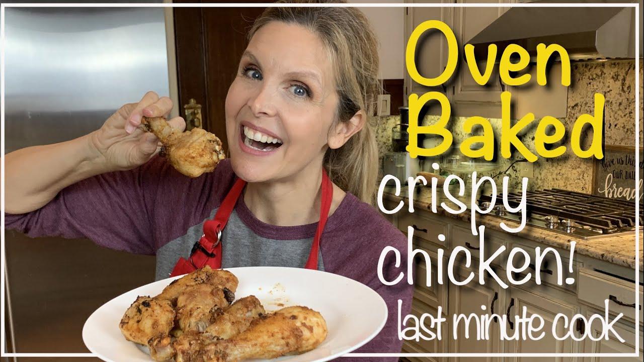 Oven Baked Chicken Drumsticks | Crispy outside, tender inside!
