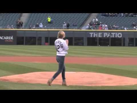 Kathleen Robertson Baseball