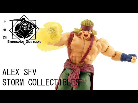 SC499 - Storm Collectibles Street Fighter V SFV Alex