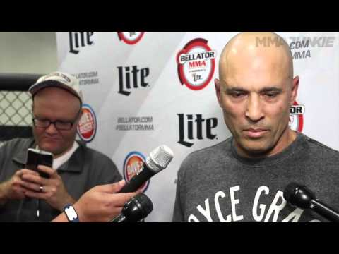 Royce Gracie says Ken Shamrock talks too much