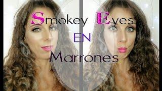 Smokey eyes en marrones - Ahumado en marrones y bloopers