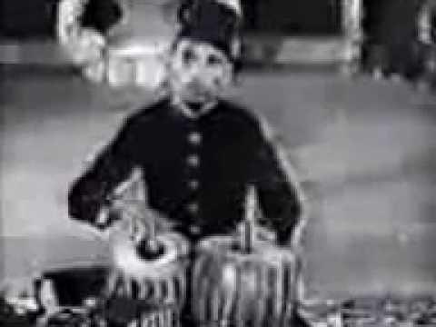 Ustad Ahmedjan Theraka tabla solo 1936 from BBC Archives