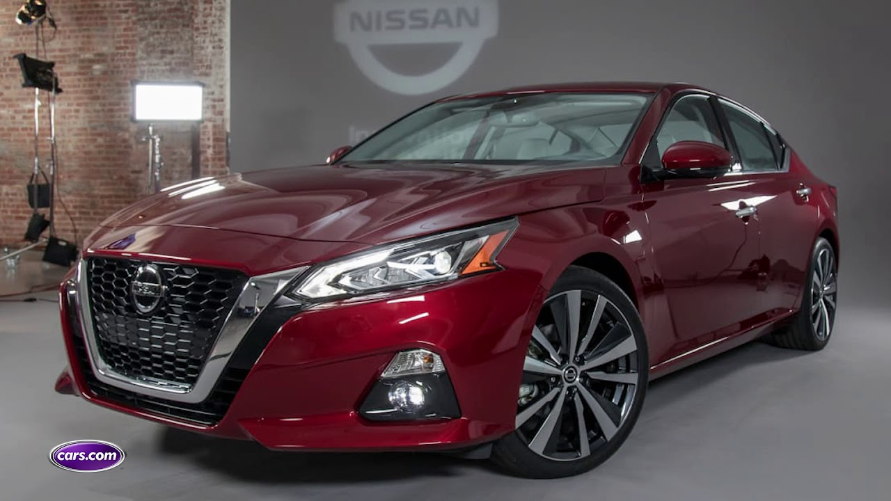 2019 nissan altima: first look — cars - youtube