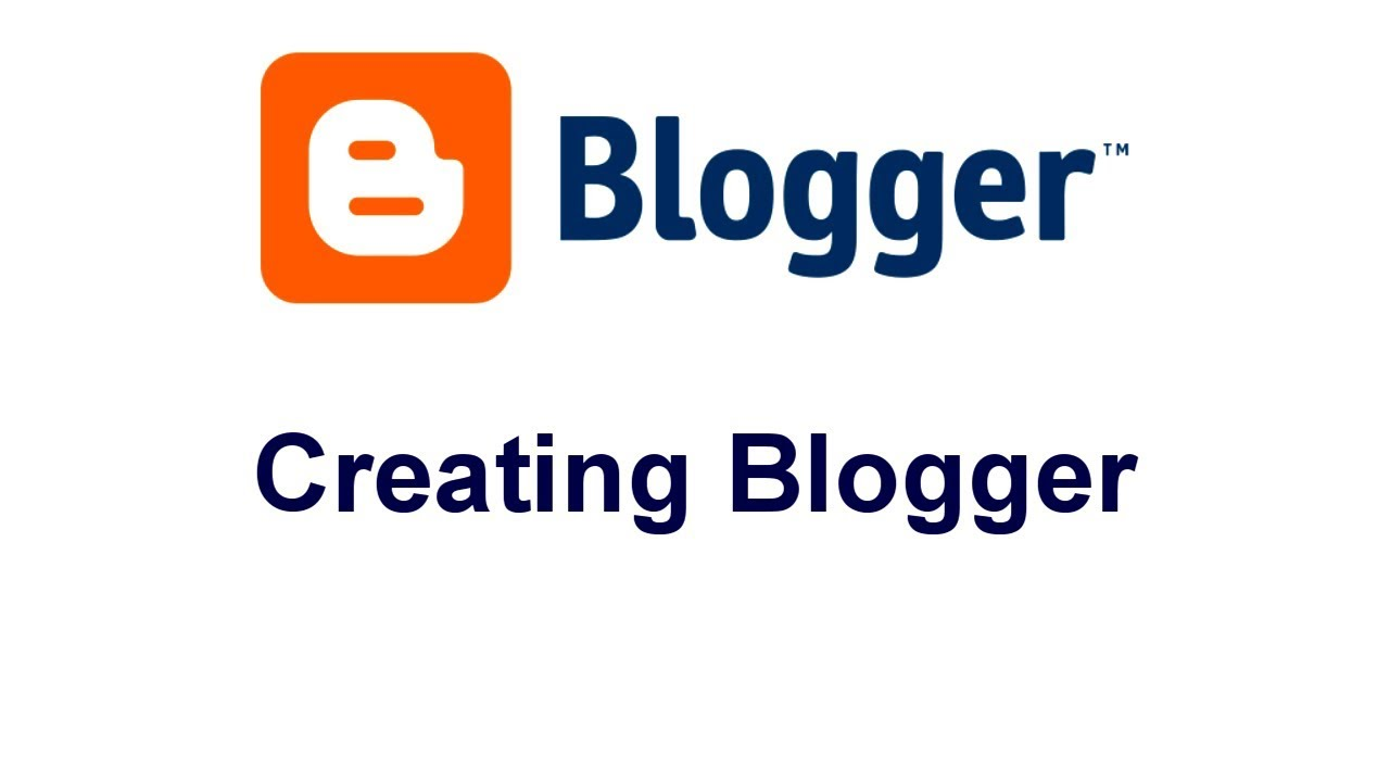 How to create a blog (New update)