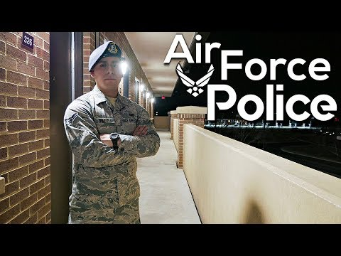The Truth About Air Force Security Forces | Military Police Vlog