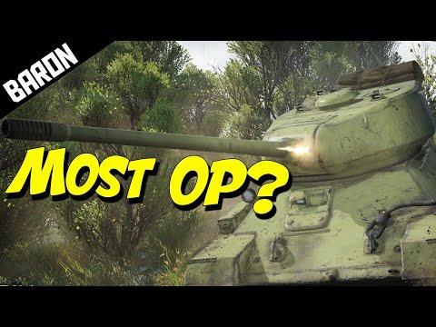 War Thunder - Most OP Tank?  (War Thunder Tanks Gameplay)