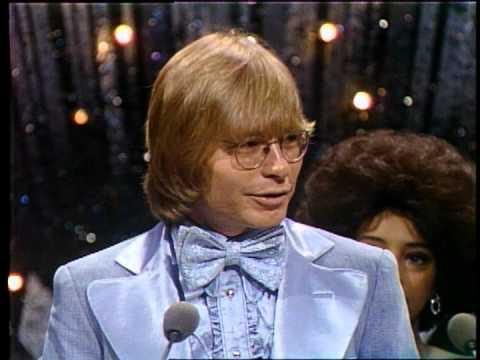 John Denver Wins Favorite Country Male Artist  AMA 1976
