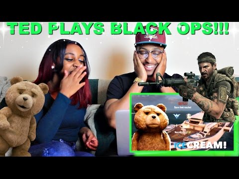 Ted Plays Call of Duty  By Azerrz Reaction!!! LOL