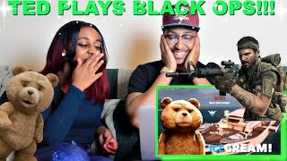 """Ted Plays Call of Duty"" By Azerrz Reaction!!! LOL"
