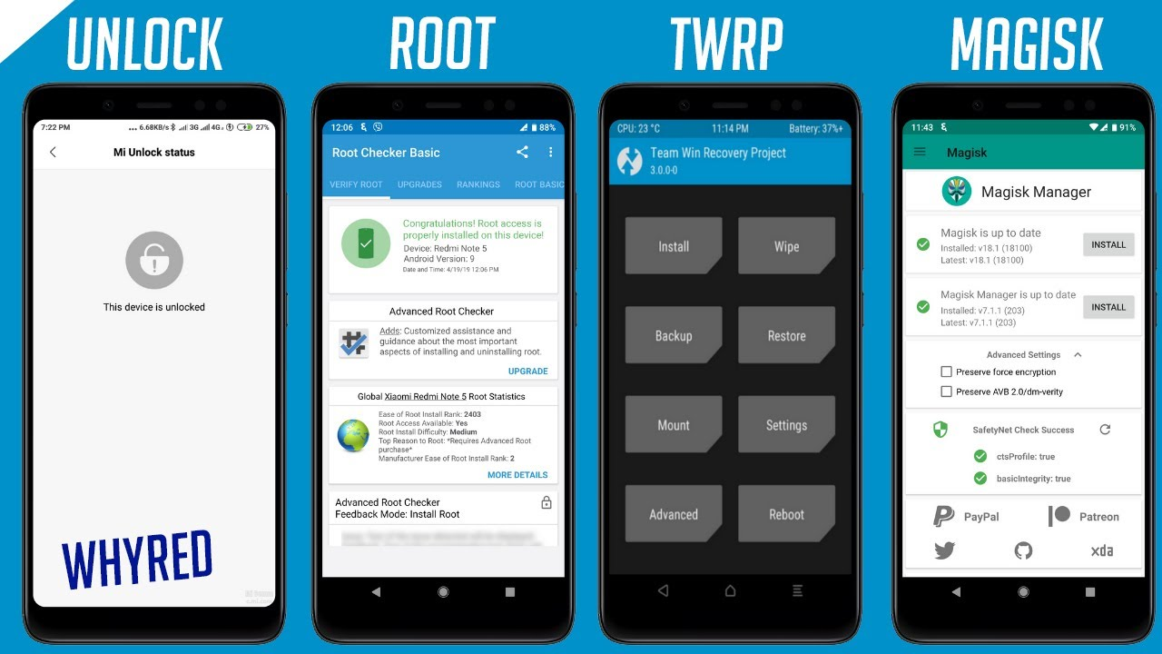 How To Unlock Bootloader, Install TWRP & Root Your Redmi Note 5 AI & Pro