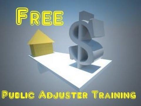 Free Illinois Public Adjuster Training - Career training - Licensing - On-Going schooling