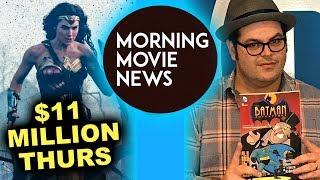 Wonder Woman Thursday Night Box Office, Josh Gad closer to DCEU Penguin Casting