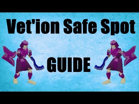 Vet'ion Safe Spot Guide + Loots Old School Runescape 2007 ( OSRS )