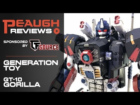 Video Review: Generation Toy GT-10 GORILLA