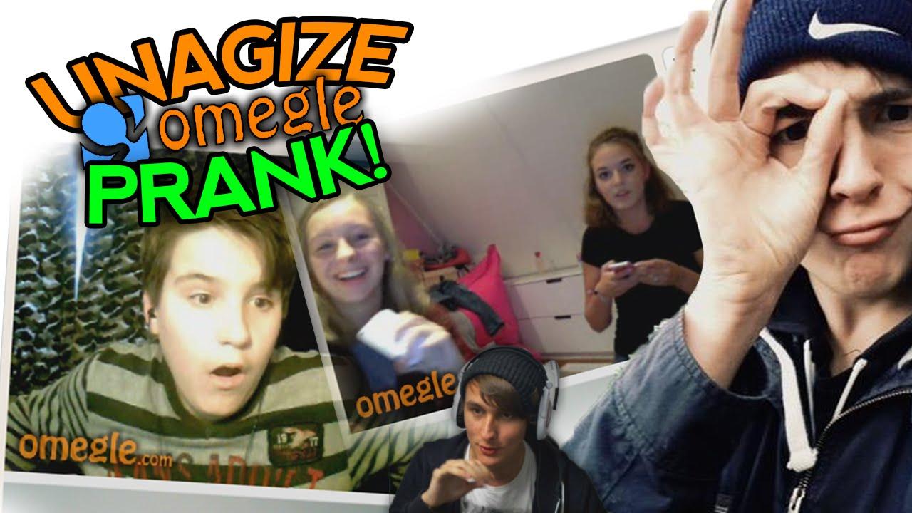UNAGIZE OMEGLE PRANK! - YouTube