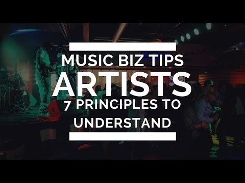 Music Business Tips | 7 Principles Every Artist Must Understand to Make it In Music | Seth Mosley