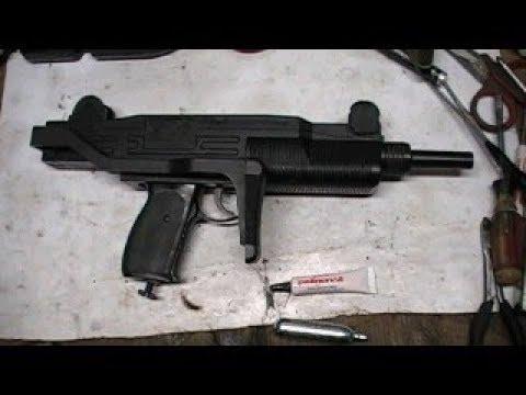 Review & Shooting Crosman z77 Co2 BB Uzi