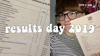 reacting to my exam results on camera 2019! | sqa exam results day 2019