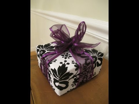 PART 2: How To Make a Gift Box From Scrapbook Paper -- Thrift Diving