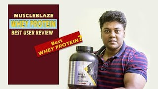 Muscleblaze Whey Protein (Hydro) || Best Whey Protein? || Best User Review || by FitGuru ||