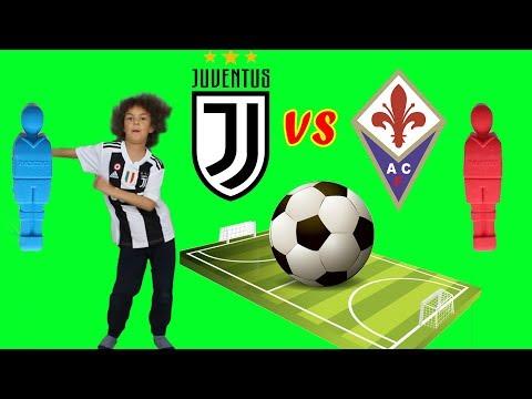 Juventus vs Fiorentina: Sfida Calcio Balilla Fai da Te!! *la partita scudetto* | Juve Fiorentina