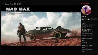 Mad max gameplay part 6 on PS4