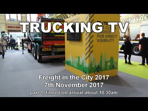 Freight in the City, 2017 - walk-rounds, 7 November 2017