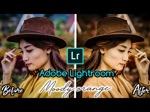 Tutorial edit foto kekinian | Moody Orange | Adobe Lightroom Android thumbnail