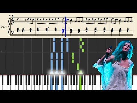 Halsey - Colors - EASY Piano Tutorial + Sheets