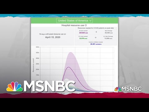 As Some States Go Soft On COVID-19 Mitigation, 'Every Day Counts' | Rachel Maddow | MSNBC