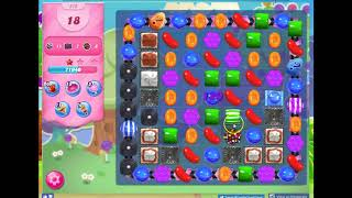 Candy Crush Level 570 Audio Talkthrough, 3 Stars 0 Boosters
