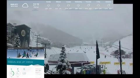 Live Stream of Park City Utah Mountain Base