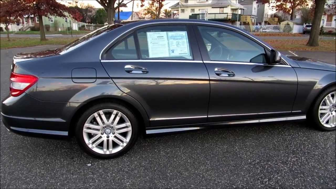 used 2008 mercedes c300 4matic for sale in lyndhurst nj. Black Bedroom Furniture Sets. Home Design Ideas
