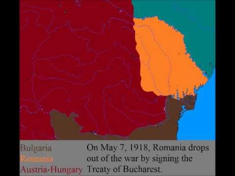 The 1918 Treaty of Bucharest