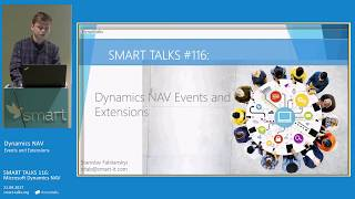 SMART TALKS 116: Dynamics NAV Events and Extensions