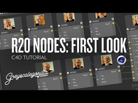 First Look at Node-Based Materials in C4D R20 | Greyscalegorilla