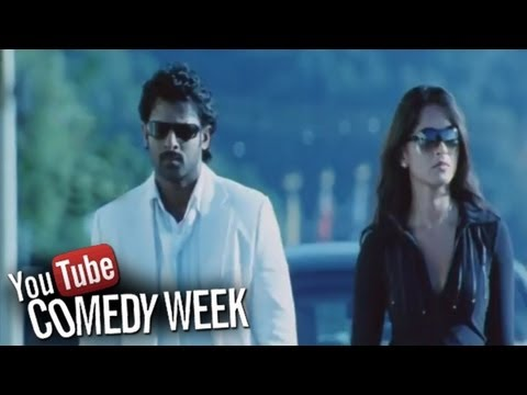 Billa Movie - Comedy Scene Between Prabhas And Anushka About His Flash Back