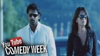 Repeat youtube video Billa Movie - Comedy Scene Between Prabhas And Anushka About His Flash Back