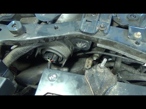 Headlight Bulb Replacement 2001 2004 Ford Escape