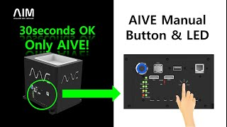 AIVE, flexible parts feeder control by hand through manual board