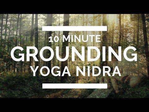 10 Minute Grounding Yoga Nidra \\  Earth Element