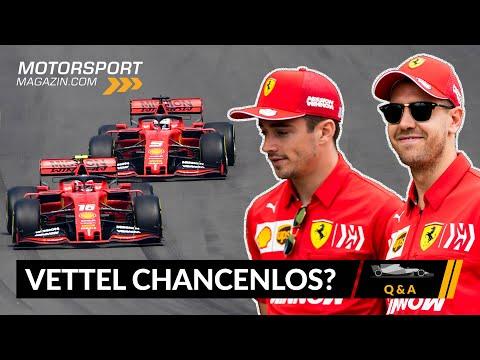 Ist Vettel gegen Leclerc chancenlos? - Formel 1 2020 (Q&A)