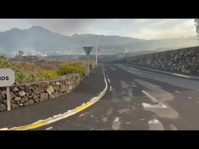 La lava deja un paisaje desastroso en la zona de La Laguna (Los Llanos de Aridane)