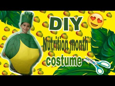 DIY Nutrition month costume