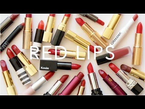 Top 25 Red Lipsticks | Valentine's Day Collection and Swatches