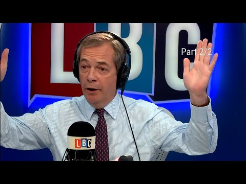 The Nigel Farage Show: Would you support further action? Part 2/2. LBC - 15th April 2018