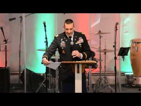 U.S. Army Chaplain Lou DelTufo - Full Gospel Church - 11/29/2015