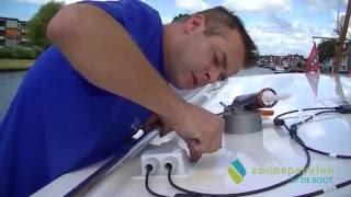 Installatie Zonnepanelen Op De Boot