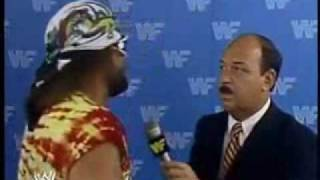 machoman randy savage on cocaine